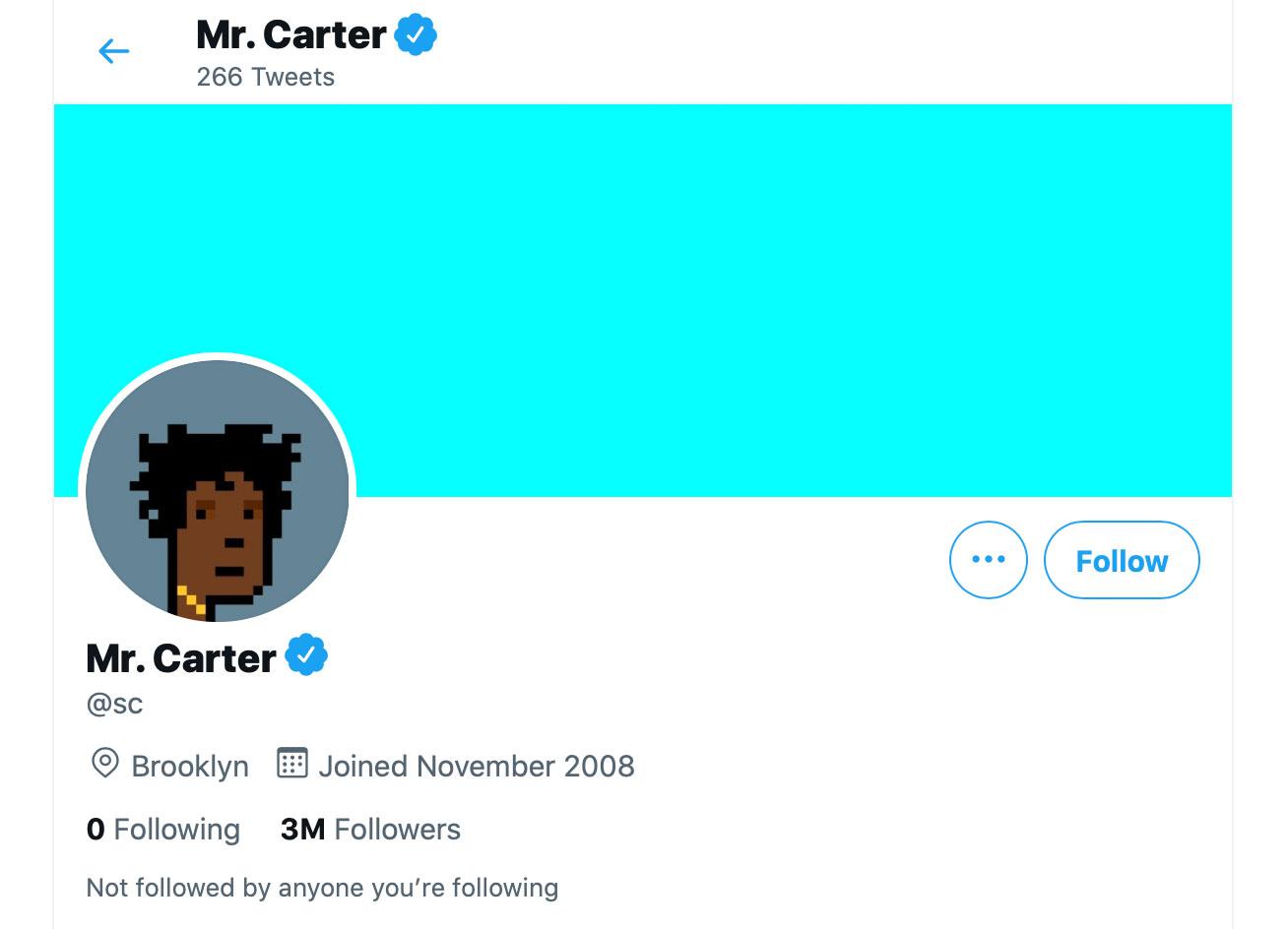Profilfoto bei Twitter